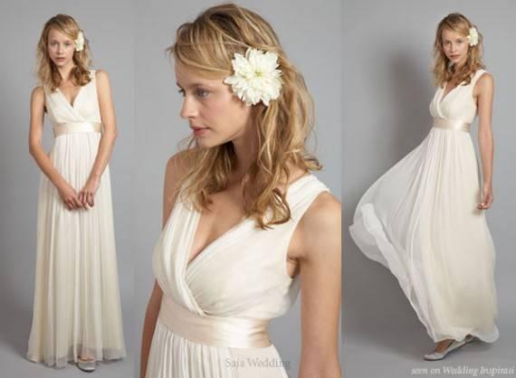 Украшение свадебного платья